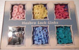 15-0012B VINTAGE LOCK LINKS HASBORO ACCESSORY CRAFT KIT