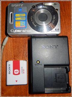 15-0456 Sony Cyber-shot DSC-S600 6.0 MP Digital Camera