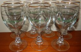 16-0293 7 IRISH COFFEE WINE GLASSES