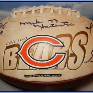 17-0124 SIGNED CHICAGO BEARS FOOTBALL