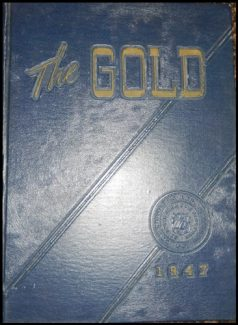 17-0332 BELOIT COLLEGE YEARBOOK THE GOLD 1947