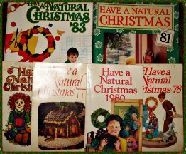 HAVE A NATURAL CHRISTMAS MAGAZINES Vintage Lot of 6 10-0314