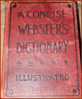 07-0429 A CONCISE WEBSTER'S DICIONARY ILLUSTRATED
